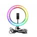 RING LIGHT RGB LED MEDIO MJ26