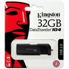 PEN DRIVE 32GB  DATATRAVELER 104 USB 2.0 -DT104 KINGSTON