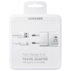 SAMSUNG FAST CHARGE TRAVEL ADAPTER USB TYPE-C 15W 2A