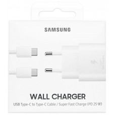 SAMSUNG SUPER FAST CHARGE ADAPTER TYPE-C 25W EP-TA800XWEGWW