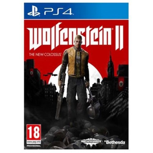 PS4 WOLFENSTEIN II :THE NEW COLOSSUS - USADO