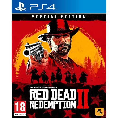 PS4 RED DEAD REDEMPTION II SPECIAL EDITION  - USADO