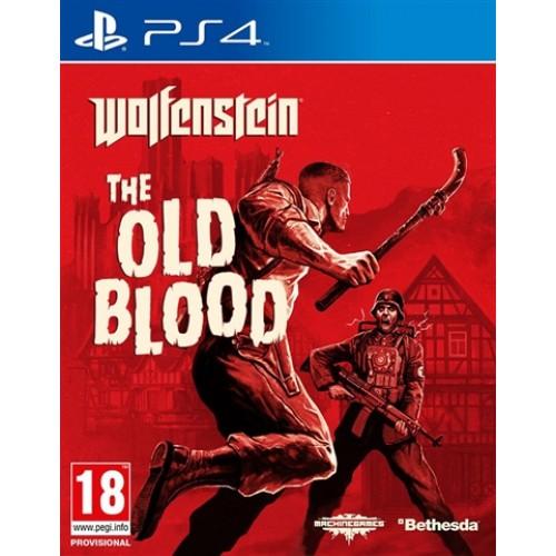 PS4 WOLFENSTEIN : THE OLD BLOOD - USADO