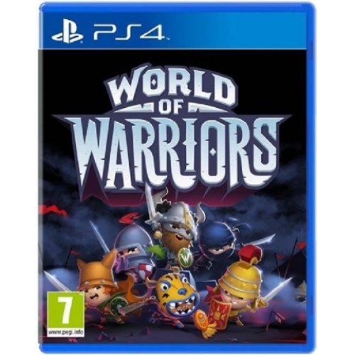 PS4 WORLD OF WARRIORS - USADO