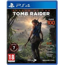 PS4  SHADOW OF THE TOMB RAIDER DEFINITIVE EDITION - USADO