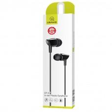 USAMS IN-EAR PLASTIC EARPHONE EP37 BLACK