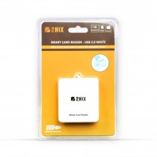 LEITOR DE CARTOES (SMART CARD) CIDADÃO – USB 2.0 – BRANCO