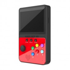MINI CONSOLA RETRO 900 JOGOS M9 GAME BOX SUP 3  VERMELHO/PRETO