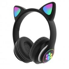 CAT HEAR HEADSET WIRELESS BLACK