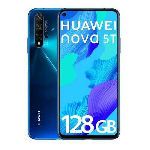 HUAWEI NOVA 5T  6GB/128GB DUAL SIM BLUE  - USADO (GRADE A)