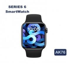 SMARTWATCH AK76 44MM SERIES 6 BLACK