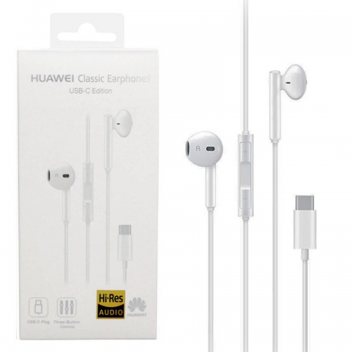 HUAWEI STEREO HEADSET CM33 USB-C WHITE