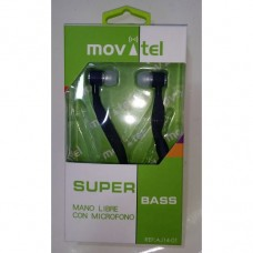 AURICULARES VOICE AND MUSIC BRANCOS MOVATEL