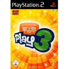 PS2 EyeToy:Play 3 - Usado