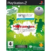 PS2 SINGSTAR MORANGOS COM AÇÚCAR - USADO