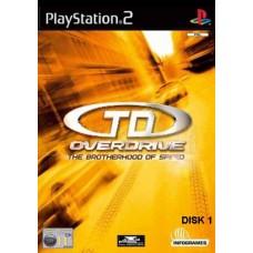 PS2 TEST DRIVE OVERDRIVE - USADO
