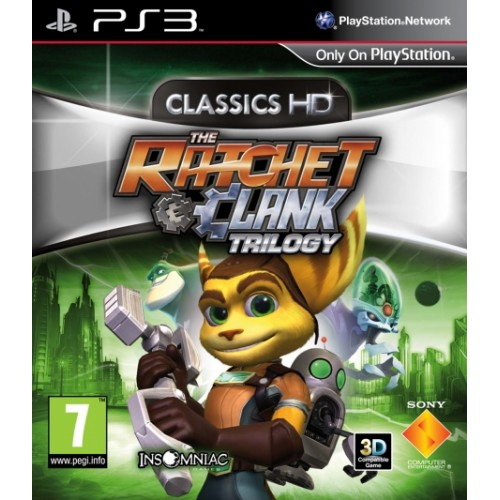 PS3 THE RATCHET & CLANK TRILOGY - USADO