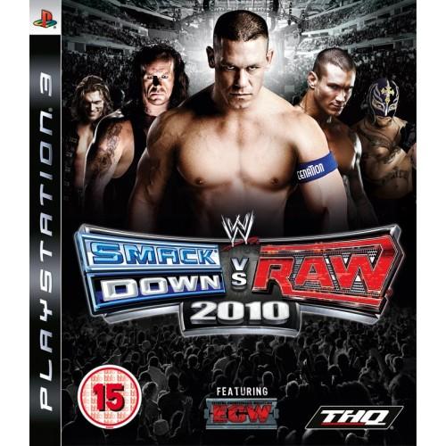 PS3 SMACKDOWN VS RAW 2010- USADO
