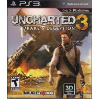 PS3 Uncharted 3 Drake`s Deception - Usado