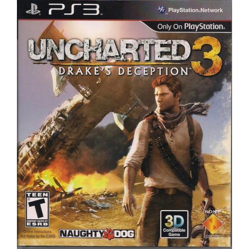 PS3 Uncharted 3 Drake`s Deception - Usado