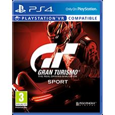 PS4 GRAN TURISMO SPORTS-NOVO