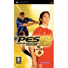 PSP Pro Evolution Soccer 6 - Usado