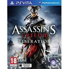 PSVITA ASSASSIN´S CREED III LIBERATION  -USADO