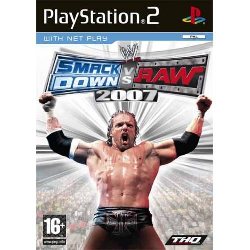PS2 SMACKDOWN VS RAW 2007 - USADO