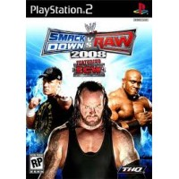 PS2 SMACKDOWN VS RAW 2008 - USADO