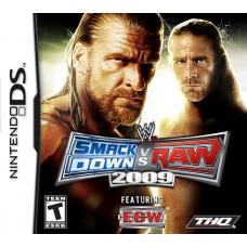 NDS WWE SMACKDOWN VS RAW 2009 - USADO SEM CAIXA