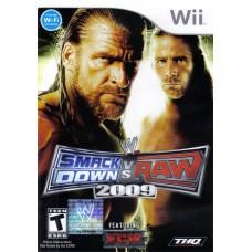 WII SMACKDOWN VS RAW 2009 - USADO S/ CAIXA