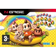 N-GAGE SUPER MONKEY BALL - USADO