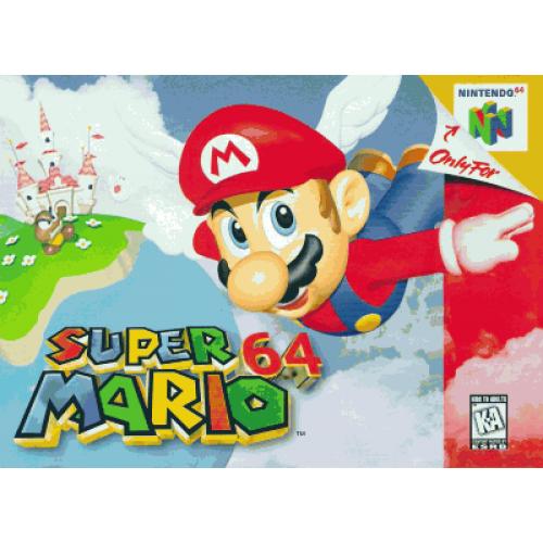 N64 SUPER MARIO 64 - USADO