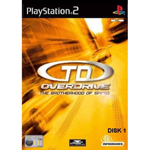 PS2 TEST DRIVE OVERDRIVE - USADO SEM CAIXA
