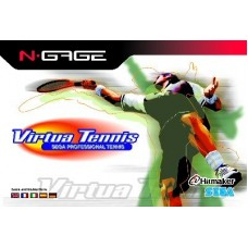 N-GAGE VIRTUAL TENNIS - SEM CAIXA - USADO