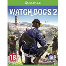 XBOX ONE  WATCH DOGS 2 USADO