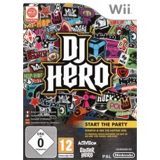 WII DJ HERO - USADO