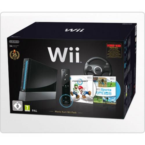 Consola Wii Sports + Mario Kart Pack - Usada
