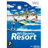 WII SPORTS RESORT - USADO