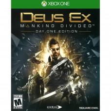 XBOX ONE DEUS EX MANKIND DIVIDED DAY ONE EDITION - USADO