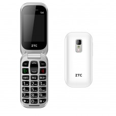 ZTC SENIOR PHONE C340 BRANCO - NOVO