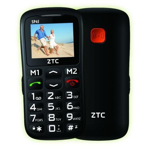 TELEMOVEL ZTC SENIOR PHONE SP45 PRETO LIVRE