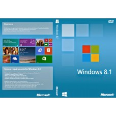 windows 8.1 32-bit/64-bit pt 1 lic dvd