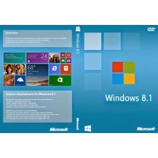 windows 8.1 32-bit/64-bit pt 1 lic dvd