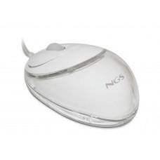 rato c/fio optico 800dpi - NOVO