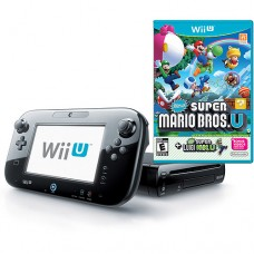 wiiU + Super Mario Bros- conjunto- usado