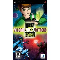 PSP BEN 10 ALIEN FORCE: VILGAX ATTACKS - USADO SEM CAIXA