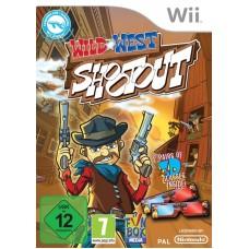 WII WILD WEST SHOOTOUT- USADO
