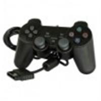 Comando Dual Shock 2 Ps2  preto Compativel