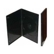 Pack 100 Caixas DVD 7mm Slim Single